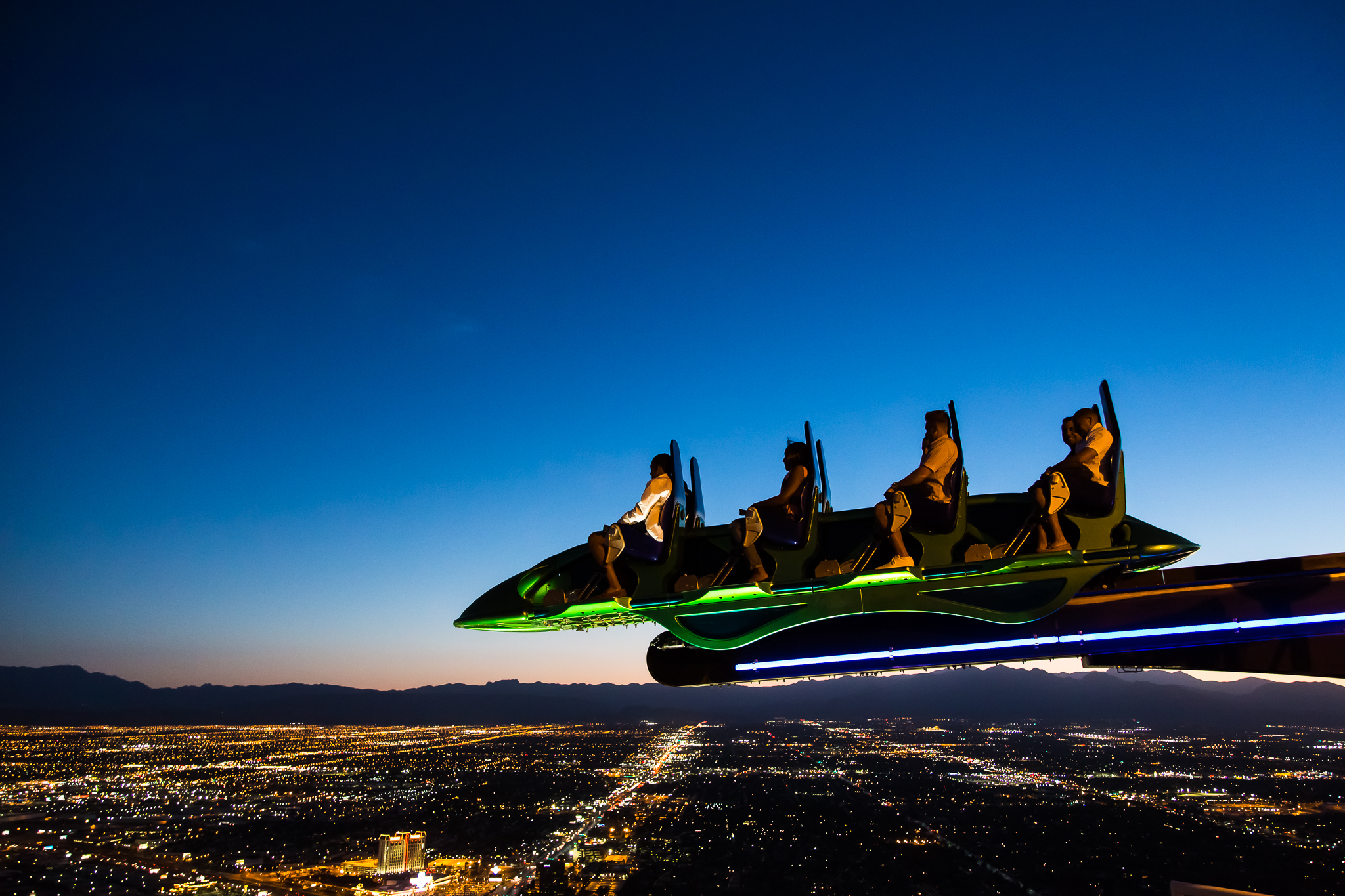 Top of Stratosphere - Las Vegas