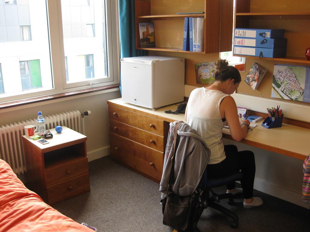 Bedroom Swansea University Residences Flickr