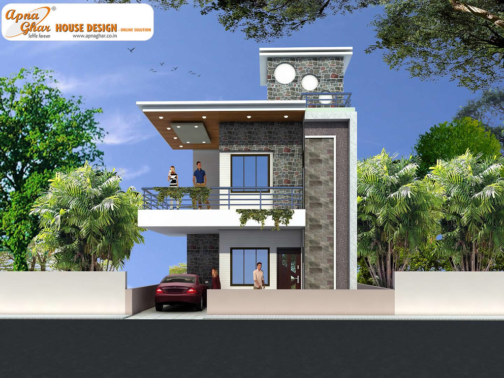 Duplex House Design Modern Duplex House Design In 126m2