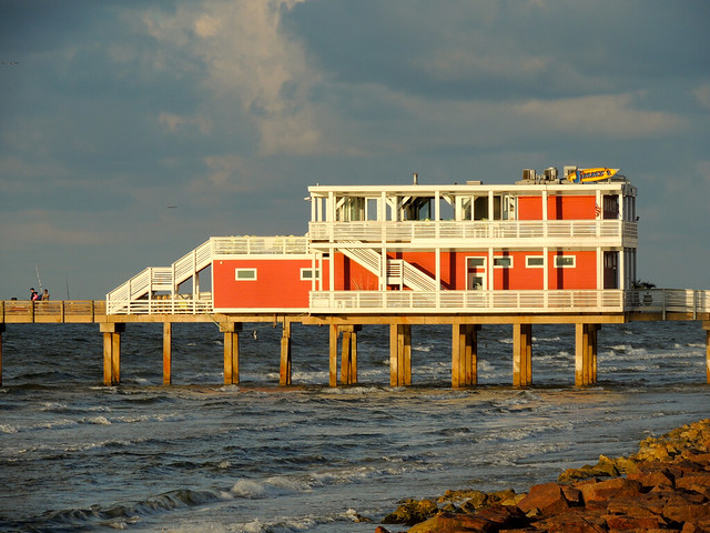 Galveston fishing pier 1 flickr photo sharing for Galveston pier fishing