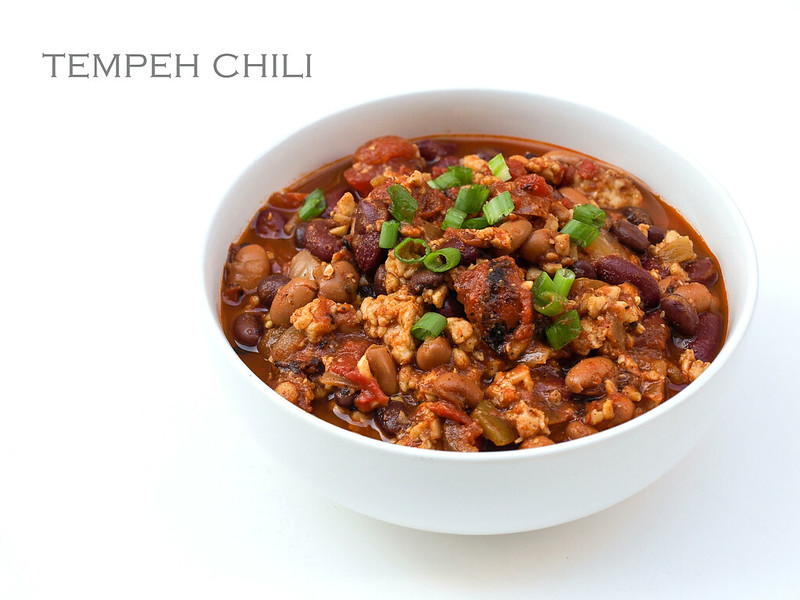The Ultimate Tempeh Chili