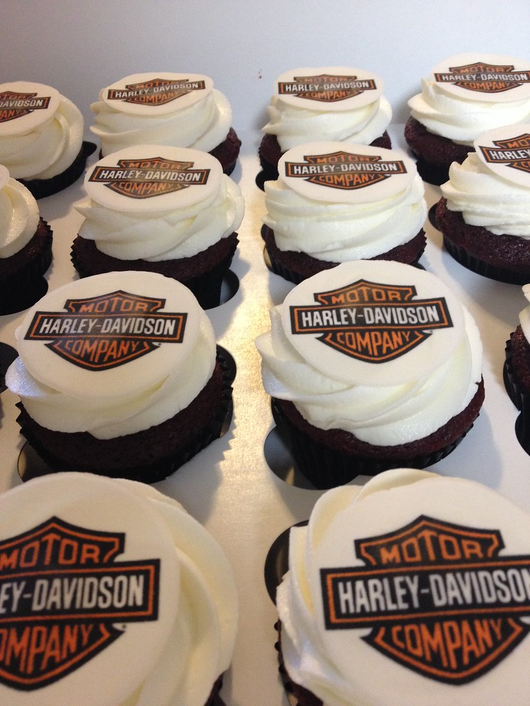 Edible Cake Images Harley Davidson : Edible Harley Davidson Logo Motorcycle Review and Galleries