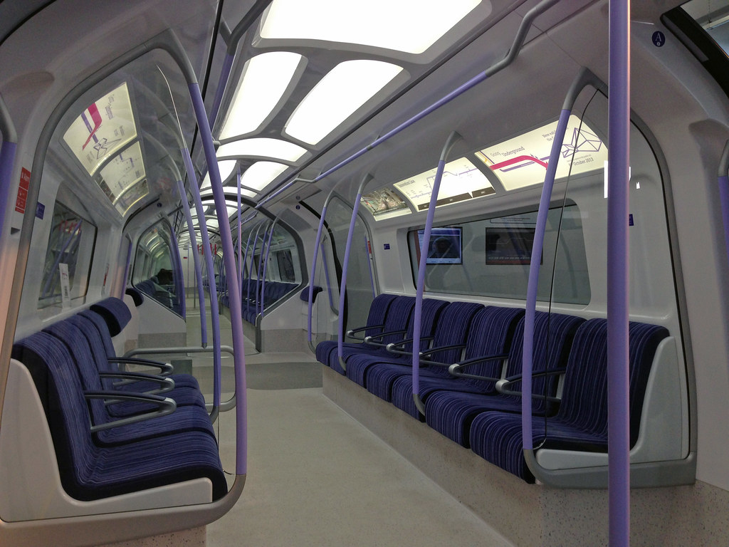Potentially new tube train design | But only if TfL give ...