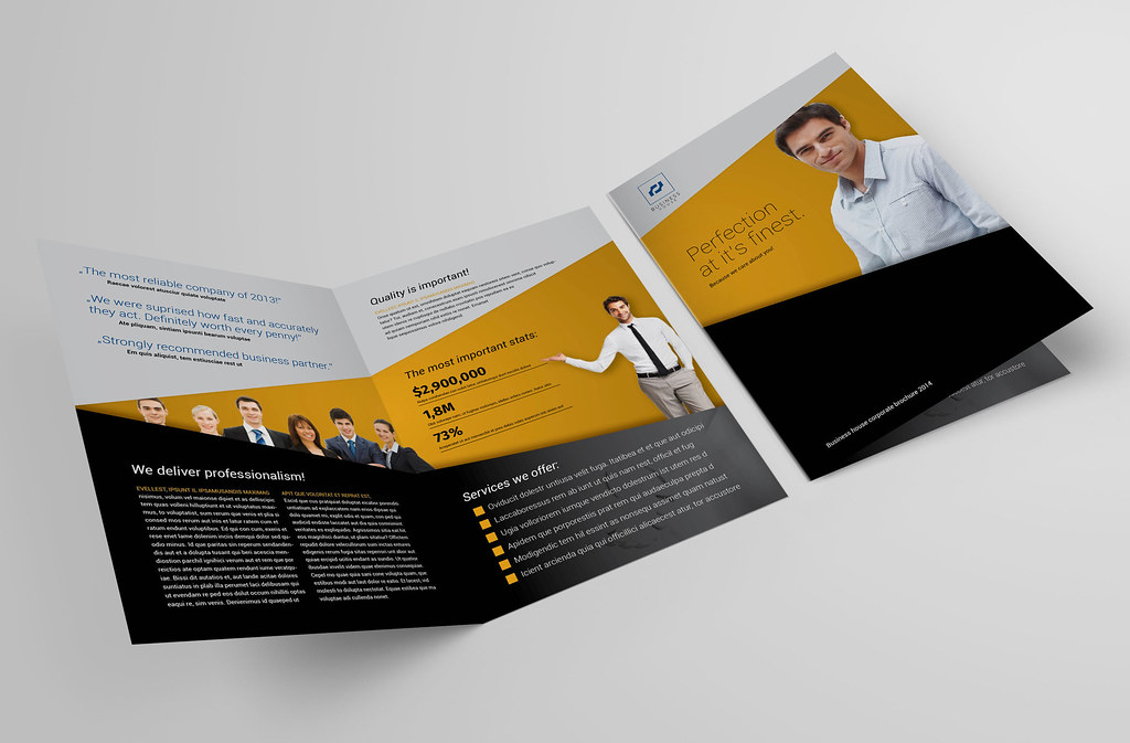 Bi fold brochure 40 business and accounting brochure for Bi fold pamphlet