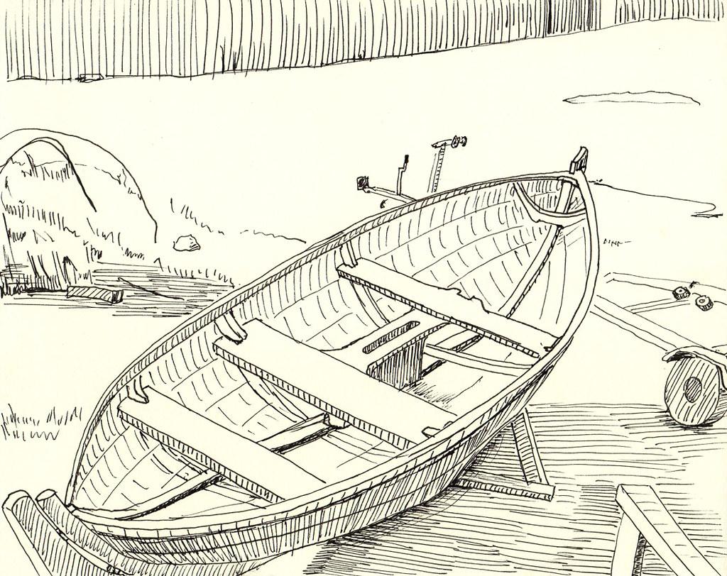Uncategorized Drawing Boat boat drawing6 michael owen flickr