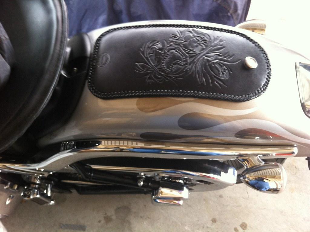 Rear Fender Bib 2002 Harley Davidson Softail Deuce Flickr