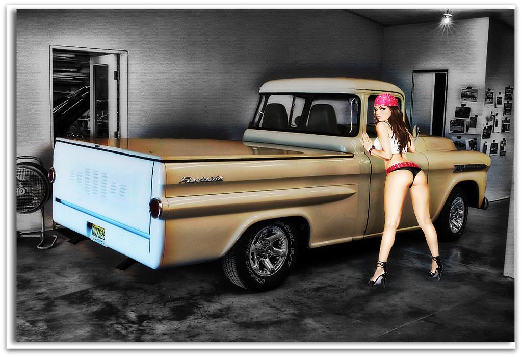 55 59 Chevy Hot Rod Trucks Autos Post