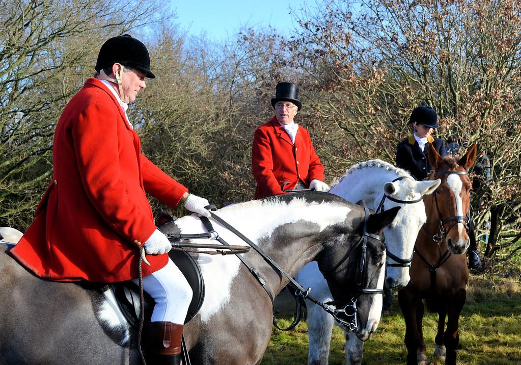 Kimblewick Hunt Cholesbury Buckinghamshire 26th