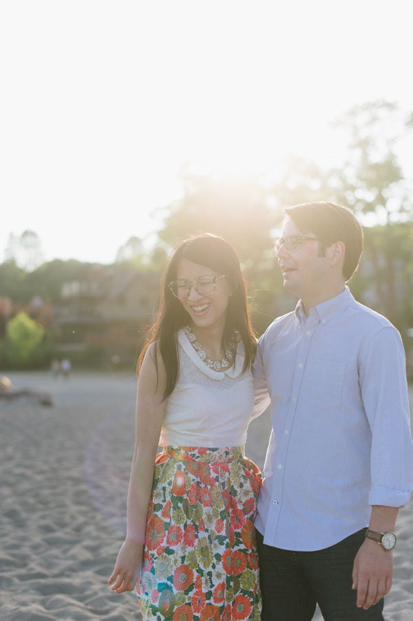 Celine Kim Photography Kew Beaches Toronto engagement session with dog-14