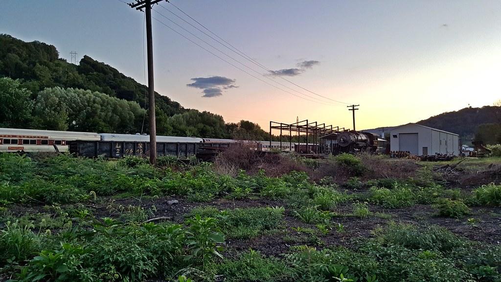 Western Maryland Scenic Railroad yard and shops | Storage ...