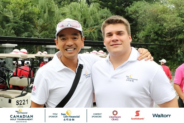 2016 [Nov] CanCham & Sun Life Financial Golf Tournament