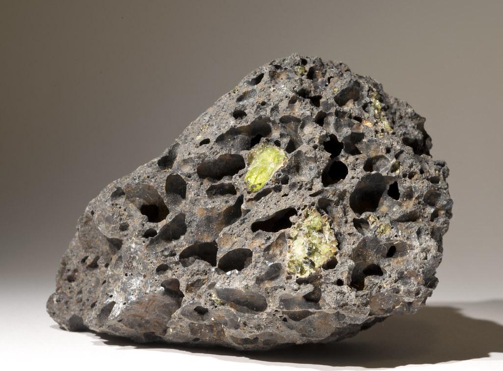 basalt  vesicular aka scoria  with phenocrysts of forsteri u2026