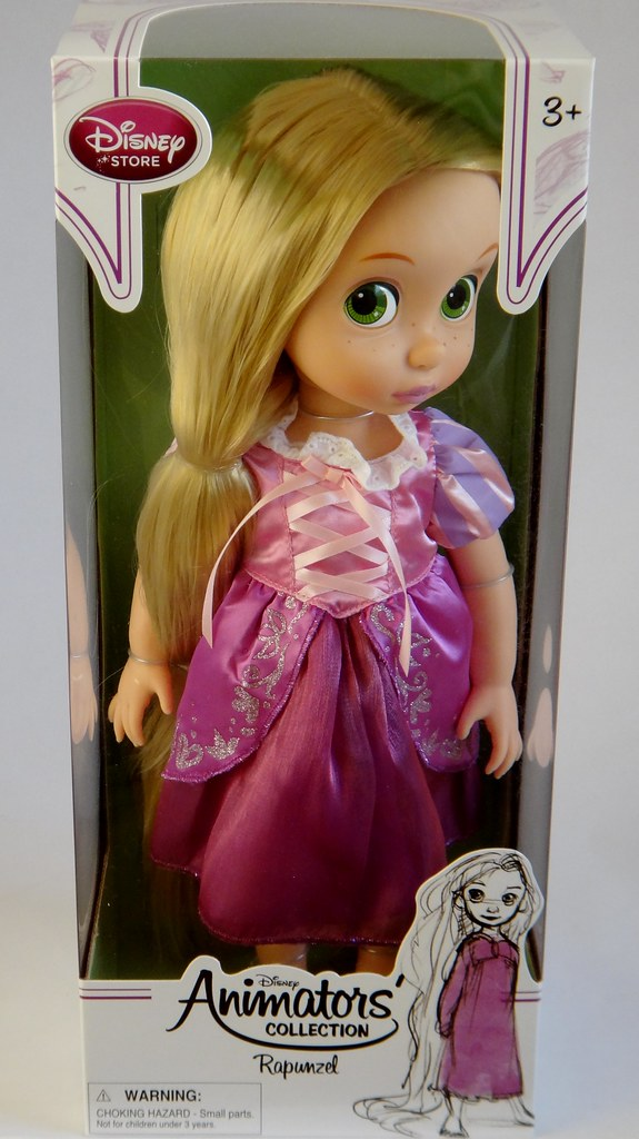 Rapunzel Animator Doll Disney Animators Collection Fi