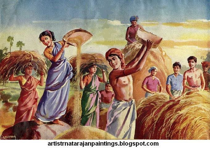 Oil Painting In Indian History