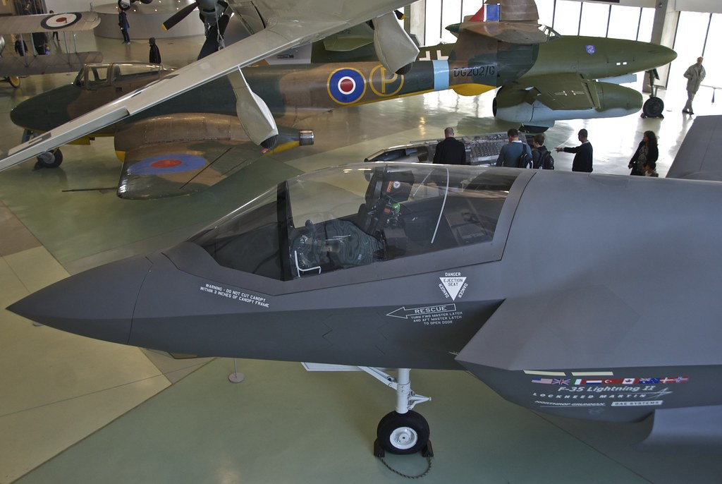 F-35 Lightning II, Cockpit, RAF Museum, Hendon | F-35 Lightn… | Flickr