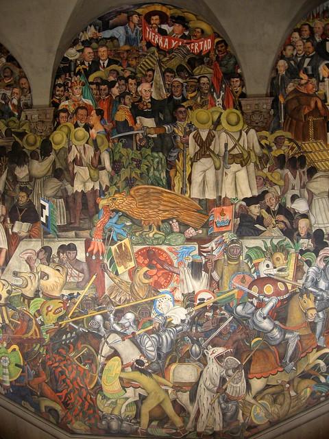 Mural de diego rivera 1 palacio nacional m xico d f for Diego rivera mural palacio nacional