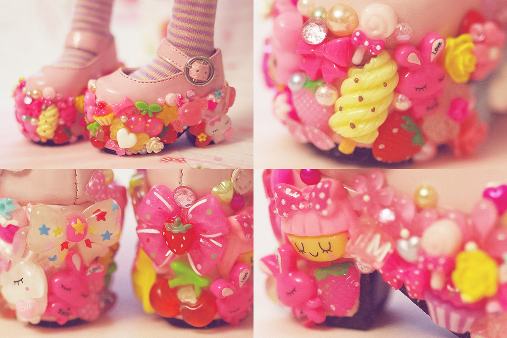 Decoden Shoes ˜�⋆ I Can T Stop Xdddd Kinomi Flickr