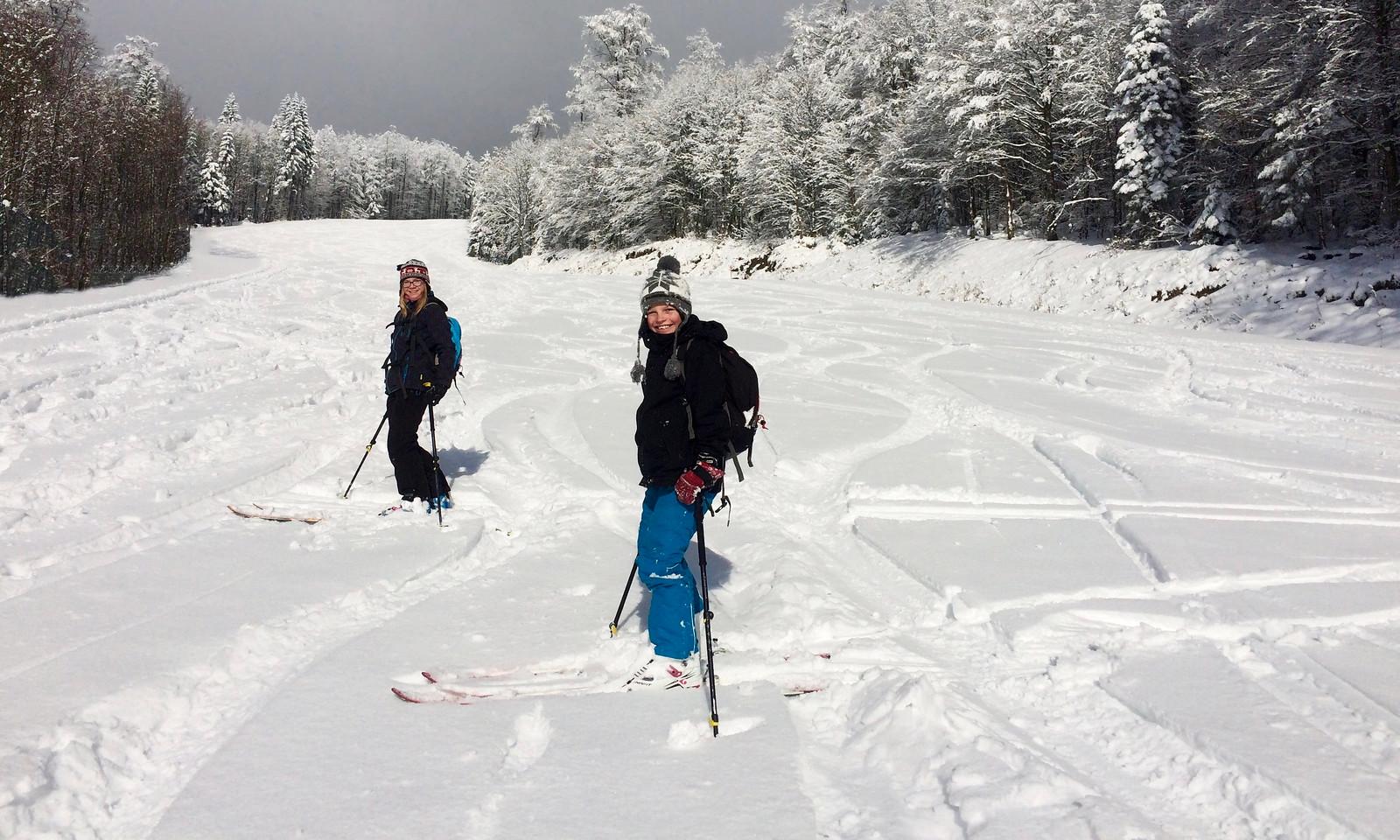 Na první lyžovačku sezony spokojenost