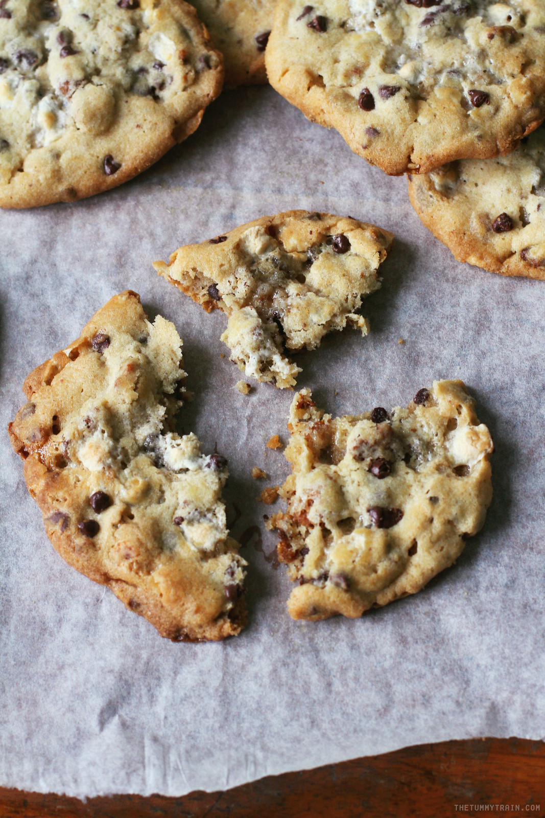 30873908672 509dae3f81 h - The well loved Cornflake Marshmallow Chocolate Chip Cookies from Milk Bar NYC