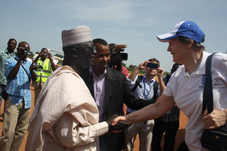 UNDP Administrator Helen Clark visits Eastern Chad | by United Nations Development Programme