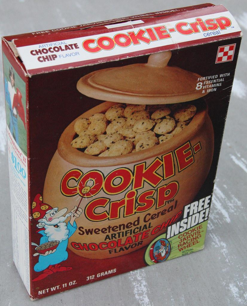 Ralston Cookie Crisp Cereal Box