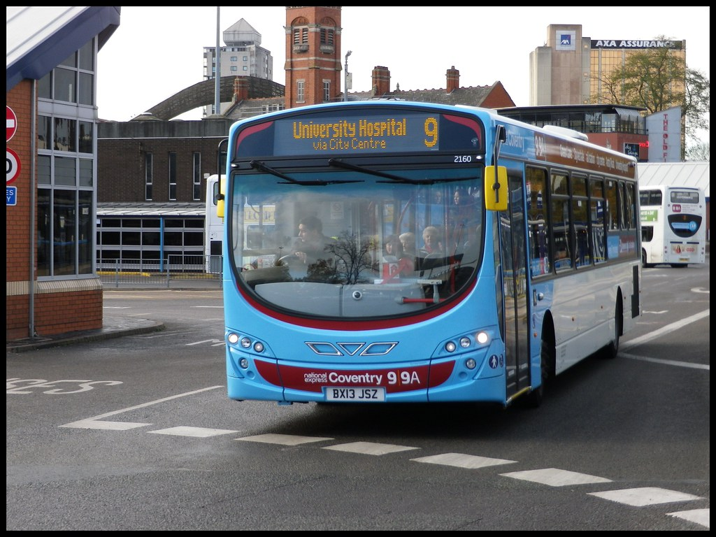 No 9 National Express Coventry Bus Pool Meadow