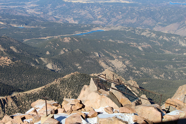 Views from the Pikes Peak summit | Flickr - Photo Sharing!