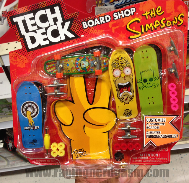 Tech deck board shop the simpsons flickr photo sharing