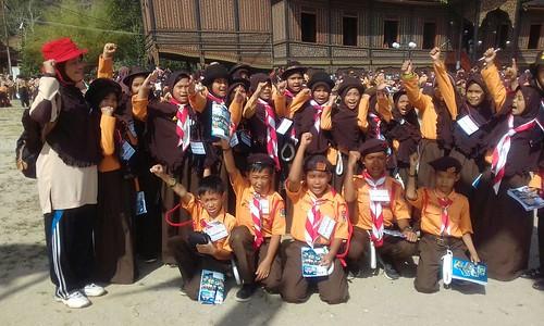 Kemah Ukhuwah 2 Sako Regional Sumbagut, di Pagaruyuang Batusangkar