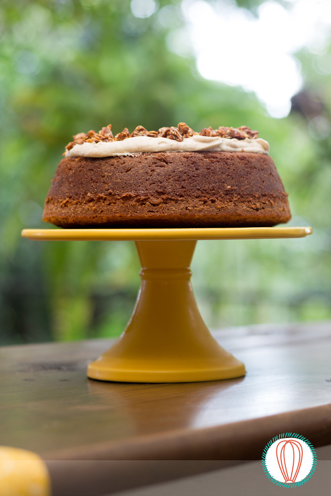 Pumpkin Cake with Brown Butter Icing | The Foodies' Kitchen