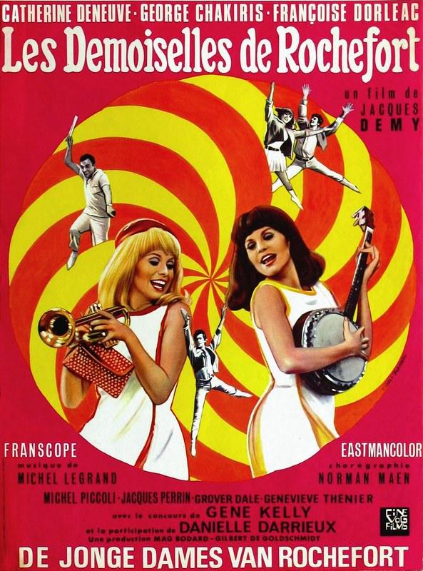 Les Demoiselles de Rochefort - Poster 2