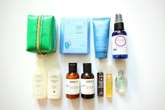 Travel Essentials Toiletries