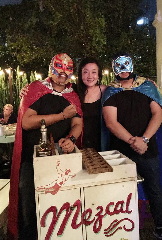 "The nice ""luchadores"" at Lucha Loco"