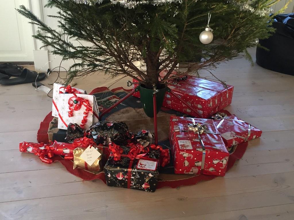 Julklapparna klara
