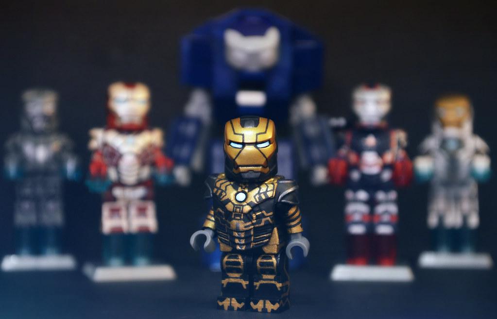 LEGO Iron Man 3 : Mark 41 Bones Suit   The final suit that ...  Lego