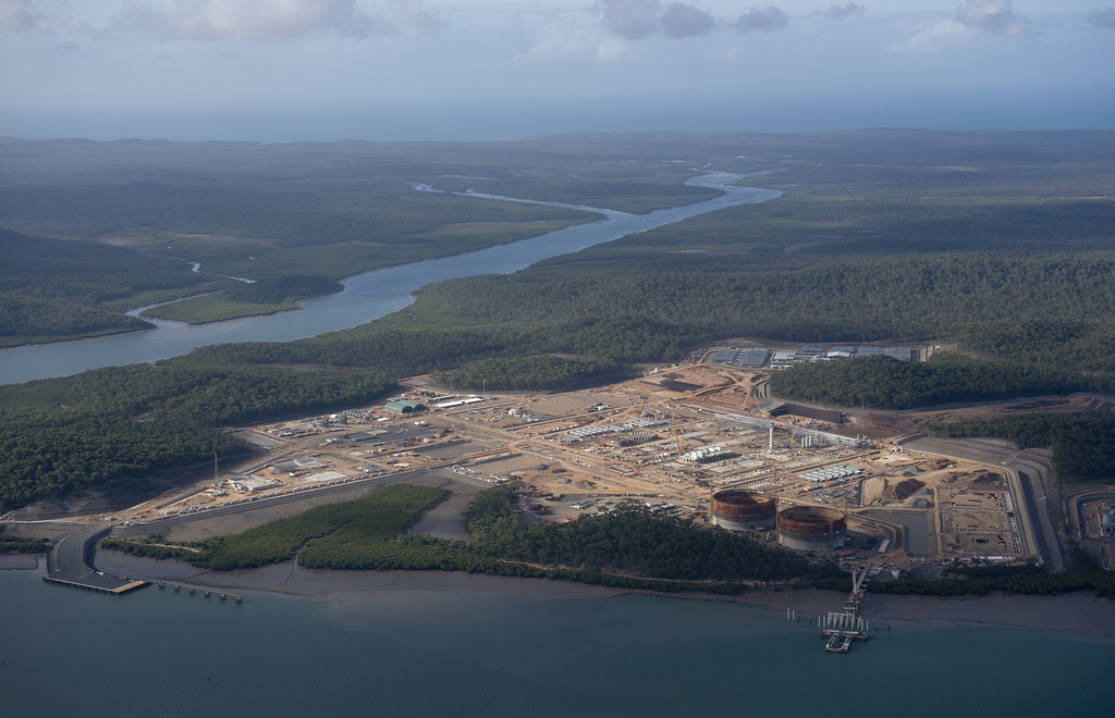 Curtis Island Lng Projects Map