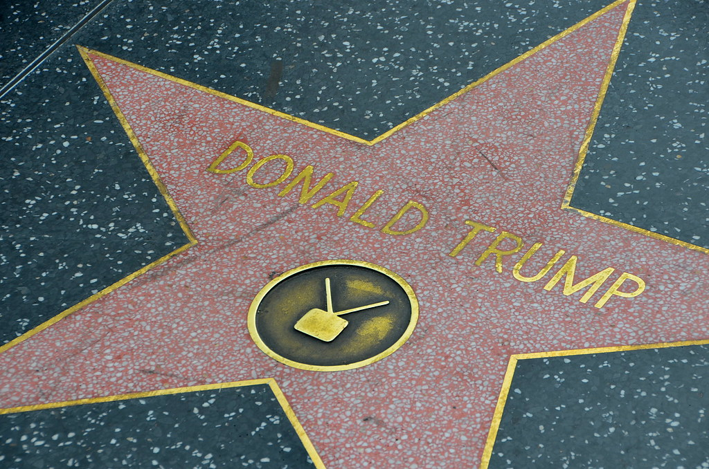 Even Donald Trump gets a star?! | Hollywood Walk of Fame ...