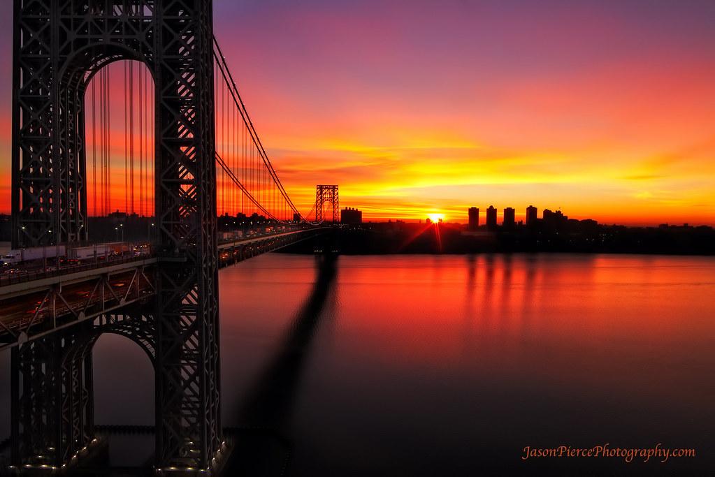 11 15 13 This Morning S Sunrise Over Washington Heights