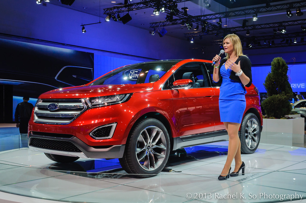 Ford Fusion 2017 Sport >> Ford Edge Concept, Los Angeles Auto Show 2013 | Ford's midsi… | Flickr