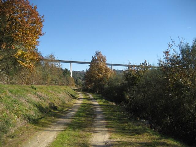 Camino en el Camiño Natural do Río Barbantiño