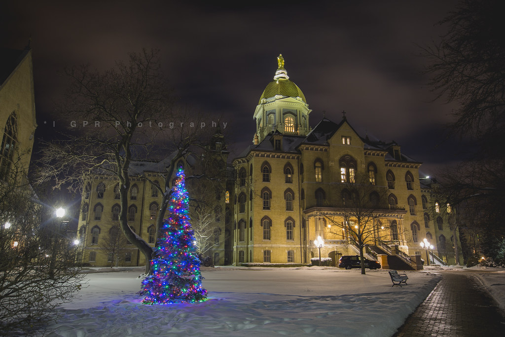 Merry Christmas from Notre Dame   Gary   Flickr