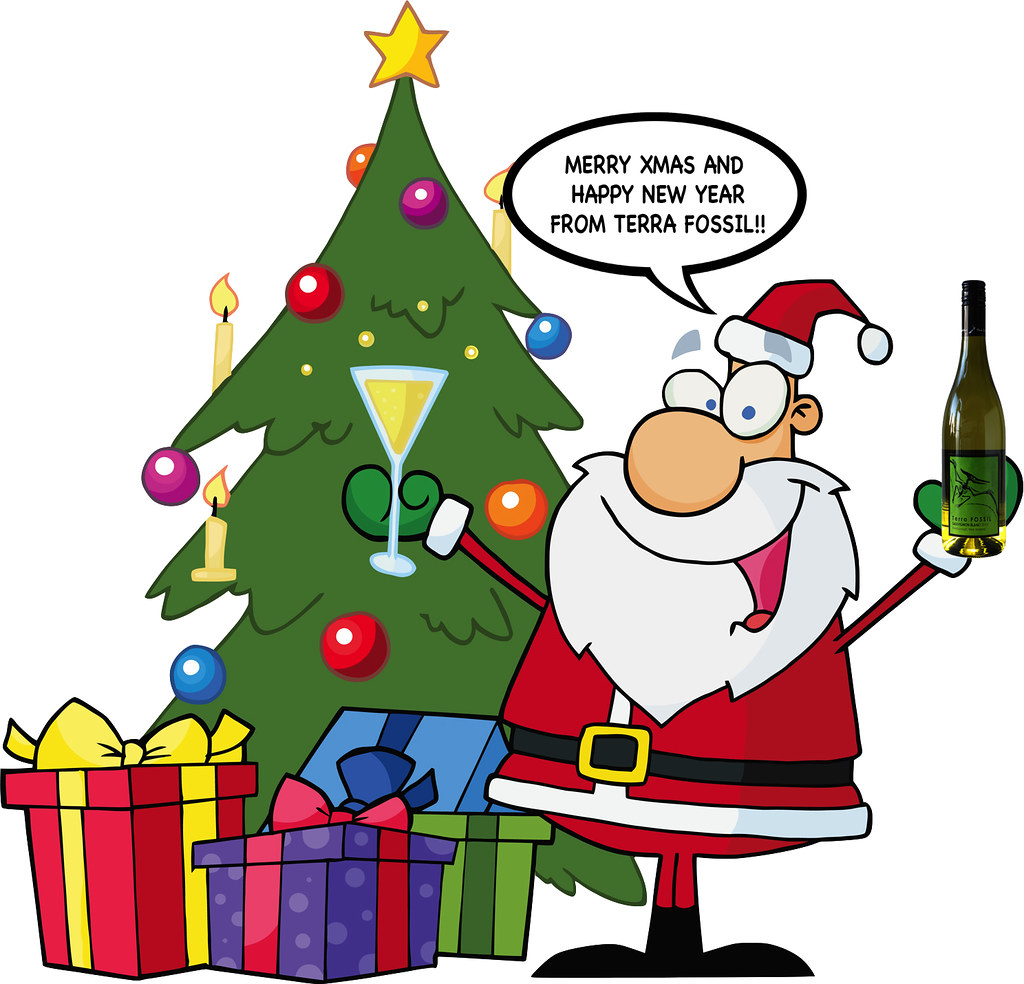 Christmas Tree With Santa Clipart Terra Fossil Flickr