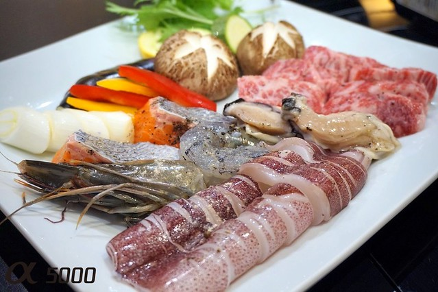 Ju.Ne Japanese Restaurant Publika - Saga Beef , hot plate -004