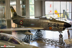 MM55-4868 51-62 - 221-108 - Italian Air Force - North American FIAT F-86K Sabre - Italian Air Force Museum Vigna di Valle, Italy - 160614 - Steven Gray - IMG_0868_HDR