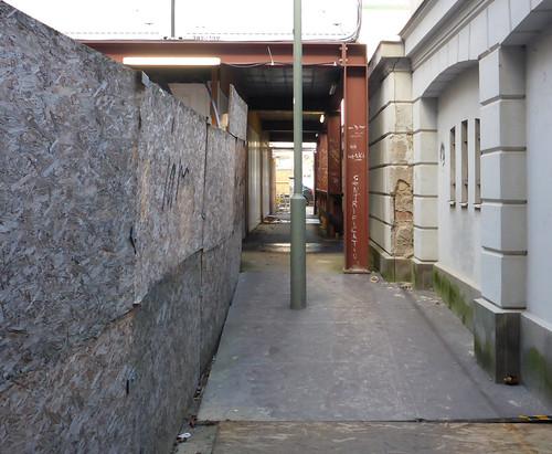 Weg zum Schinkelpavillon