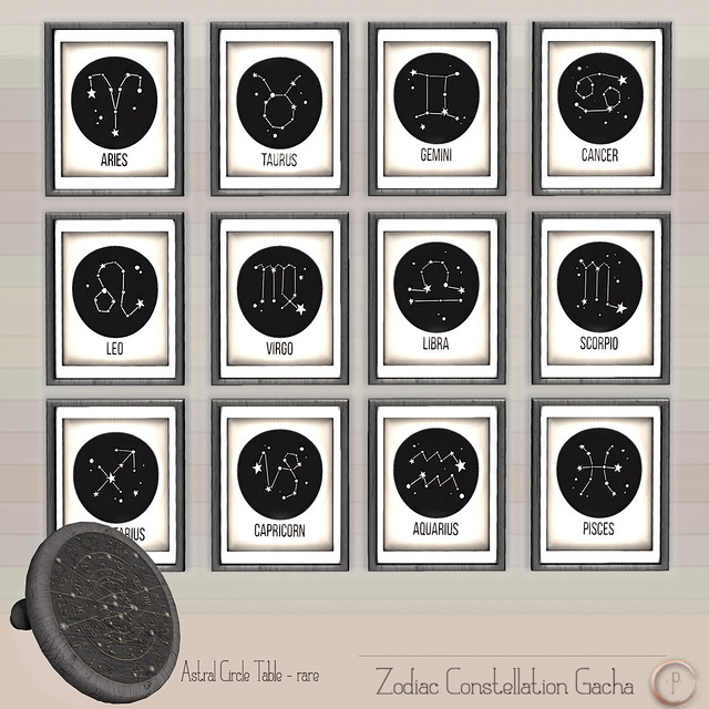 ::COMING SOON:: Zodiac Gacha for Gacha Garden