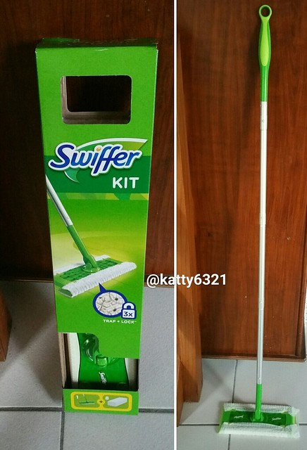 Test du plumeau Swiffer Duster