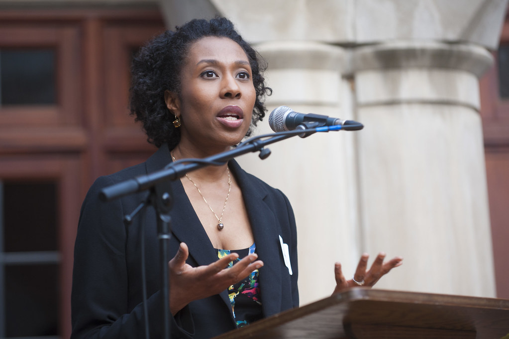 Audie Cornish, Co-Host of NPR's All Things Considered, spe ...