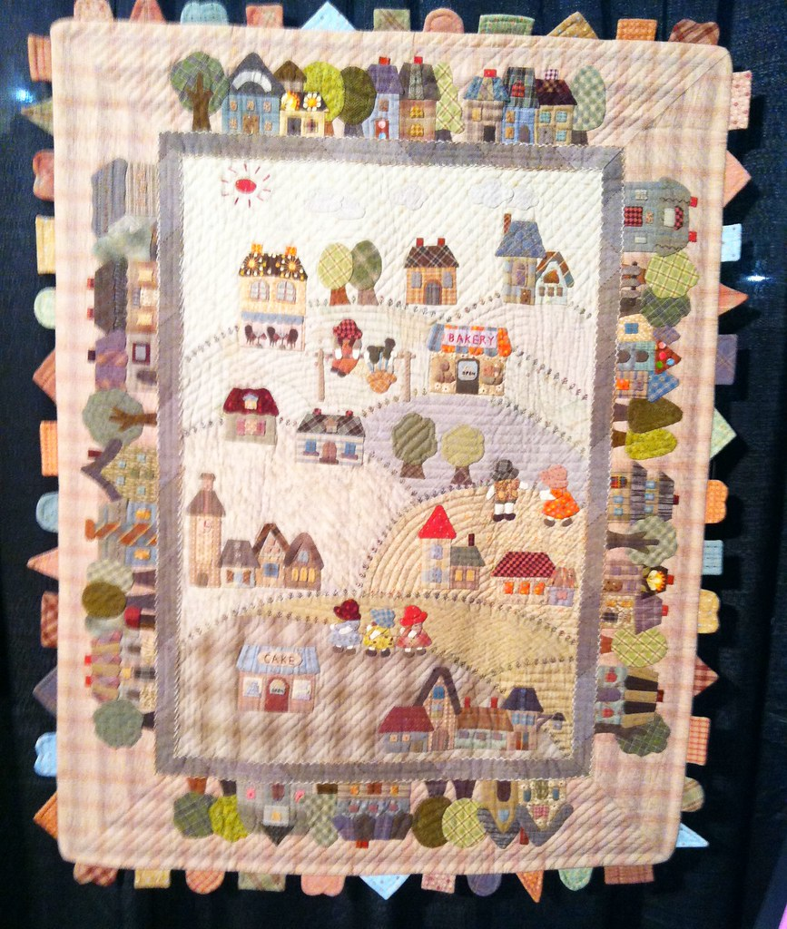 Japanese quilts at houston festival 2013 39 country - Reiko kato patchwork ...