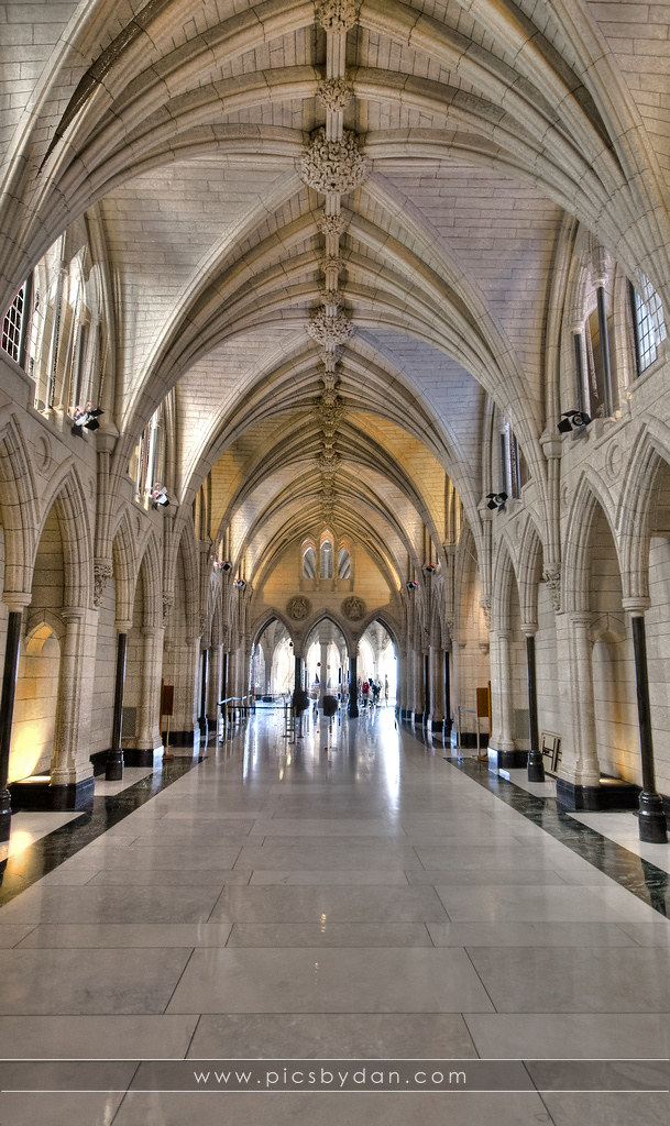 10 >> Canadian Parliament Building Interior | Dan Buettner | Flickr